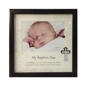 Wood Frame Baptism Day