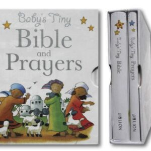 Baby tiny bible, prayer gift box hard cover