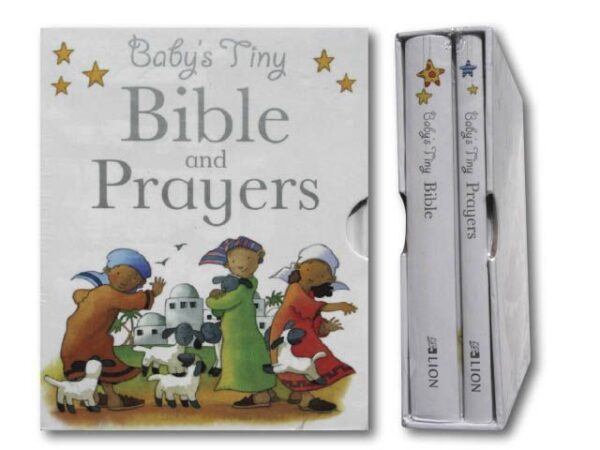 Baby tiny bible, prayer gift box hard cover