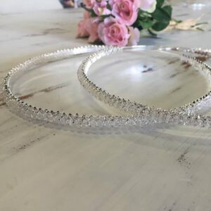 Wedding Crowns (Stefanas) & Trays